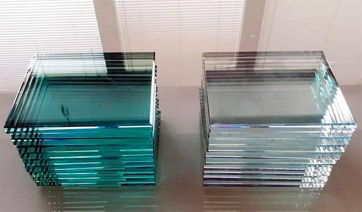 Saiba a diferença entre vidro incolor e vidro extra clear